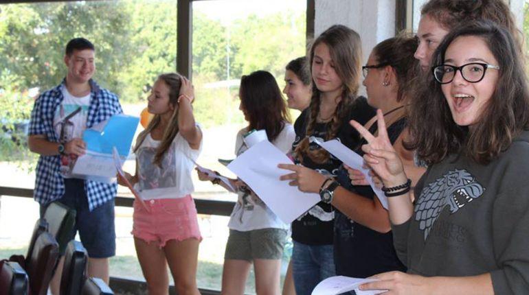 Участници по време на едно от заниманията с класически езици