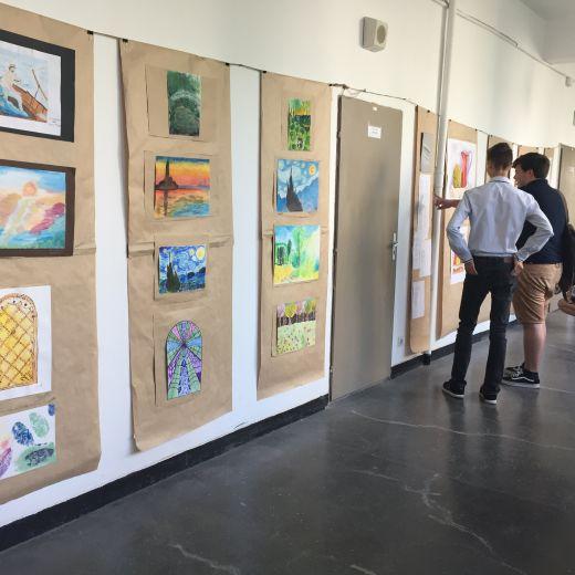 Ретроспективна изложба от рисунки и репродукции, юни 2018