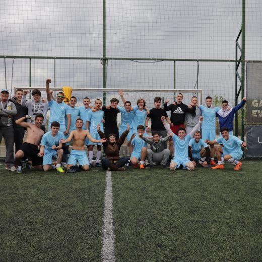 Футболен отбор НГДЕК - април 2019